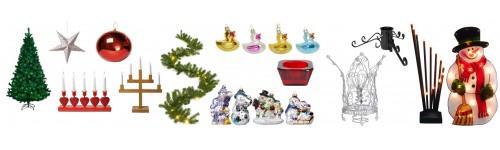 Šventinės prekės, dekoracijos